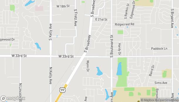 Mapa de 3144 S. Broadway en Edmond