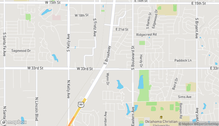 Map of 3144 S. Broadway in Edmond