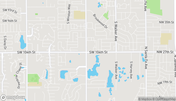 Map of 10440 S Western Ave in Oklahoma City