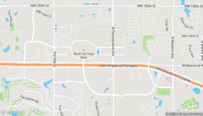 Mapa de 2237 W. Memorial Road en Oklahoma City