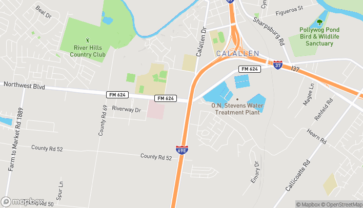 Mapa de 13525 Northwest Blvd en Corpus Christi