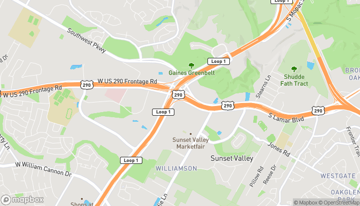 Map of 5033-A US Hwy 290 W in Austin