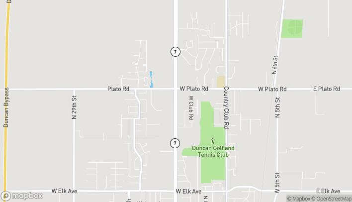 Mapa de 2400 N Hwy 81 en Duncan
