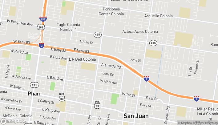 Mapa de 707 W Interstate 2 en San Juan