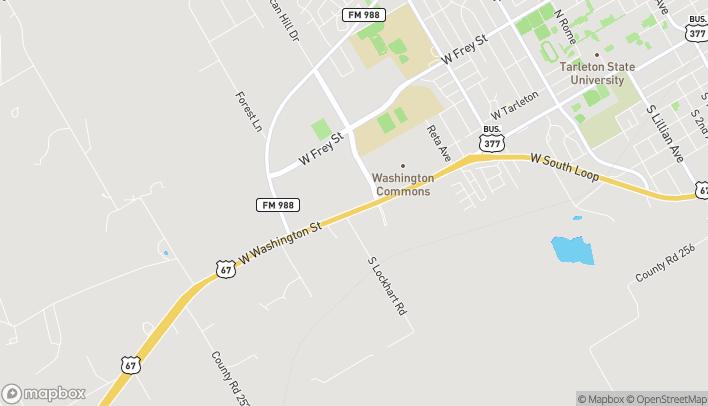 Mapa de 2811 W Washington en Stephenville