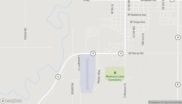Map of 1203 West Petree Rd in Anadarko