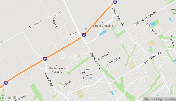 Mapa de 4825 FM 3009 en Schertz