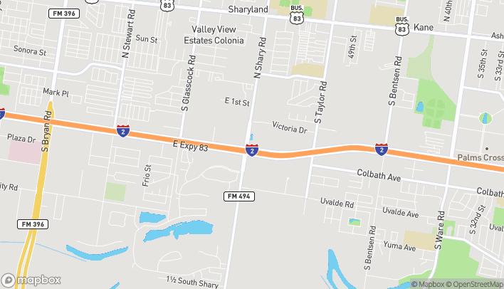 Mapa de 2401 E Expressway 83 en Mission