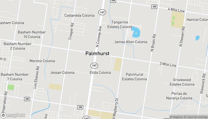 Mapa de 222 E Mile 3 Rd en Palmhurst