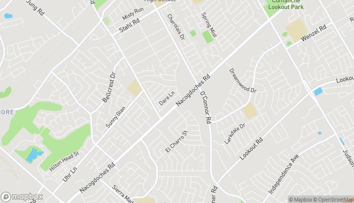 Map of 13623 Nacogdoches Rd in San Antonio