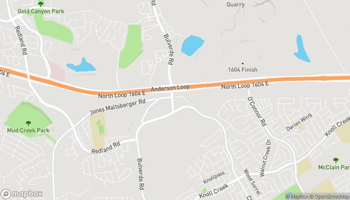 Mapa de 17306 Bulverde Rd en San Antonio