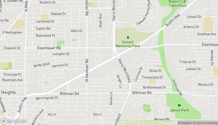 Mapa de 1442 Austin Hwy en San Antonio