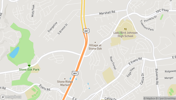 Mapa de 22502 US Hwy 281 N en San Antonio