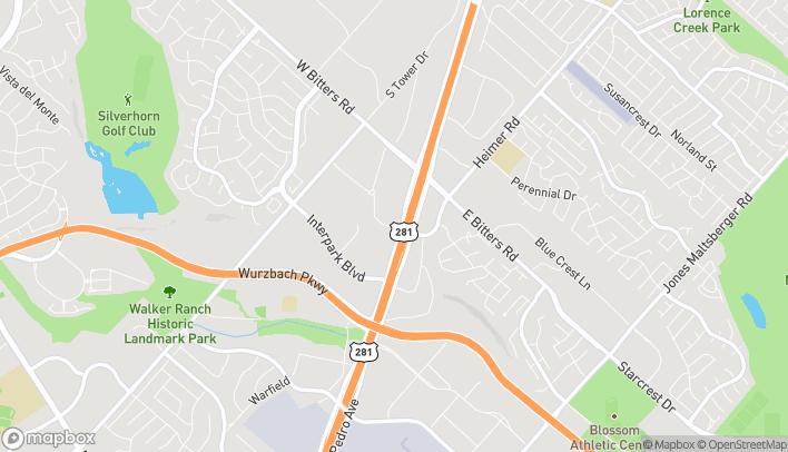 Mapa de 13127 San Pedro Ave en San Antonio
