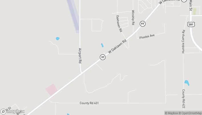 Mapa de 2044 W Oaklawn en Pleasanton