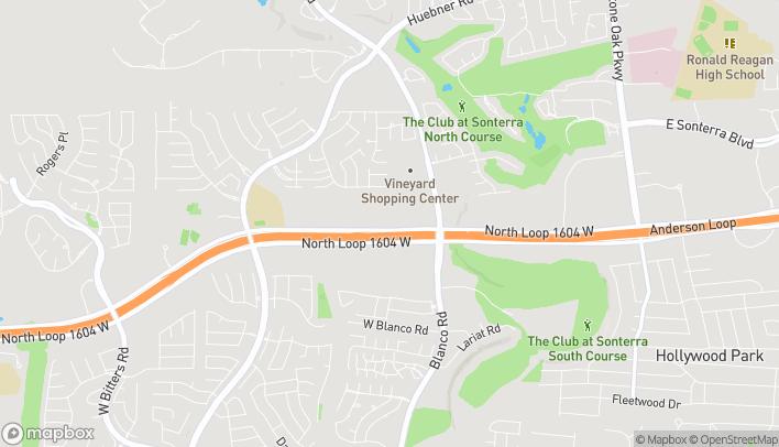 Mapa de 1301 North Loop 1604 W en San Antonio