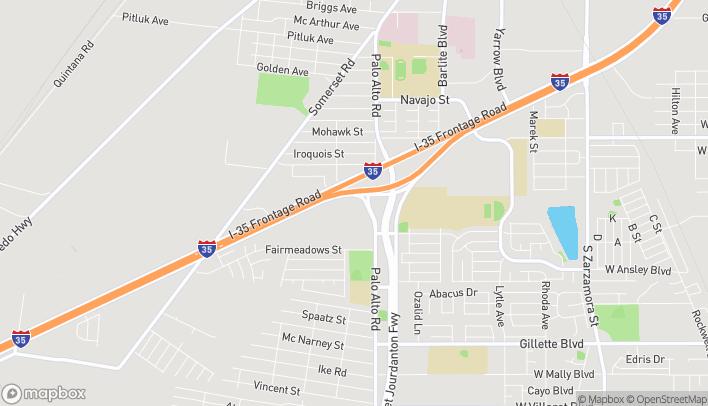 Mapa de 8526 I-35 South en San Antonio