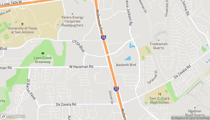 Mapa de 13670 W Interstate 10 en San Antonio