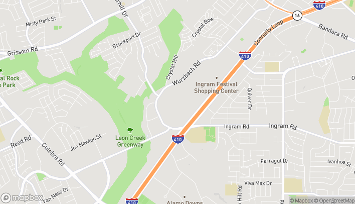 Mapa de 6301 NW Loop 410 P08 en San Antonio