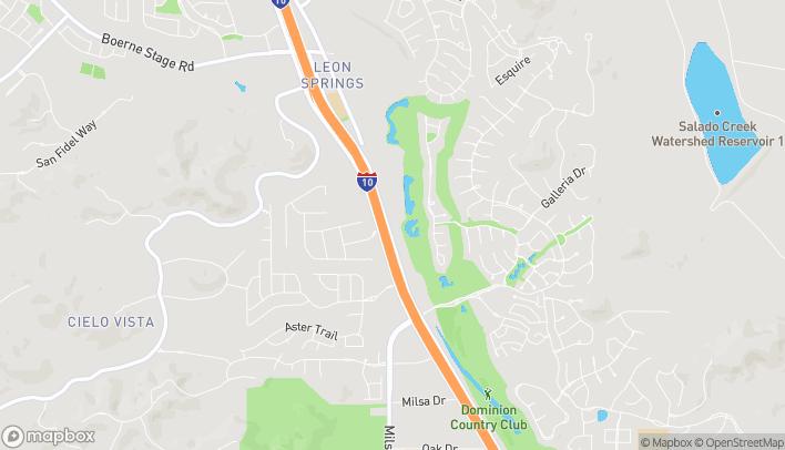 Mapa de 24531 Ih-10 W en San Antonio