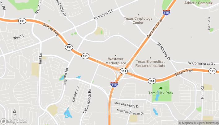 Mapa de 8227 State Hwy 151 en San Antonio