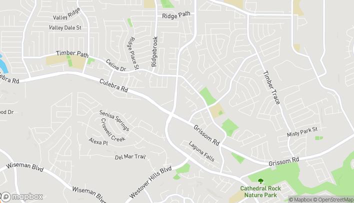 Mapa de 5538 Tezel Rd en San Antonio