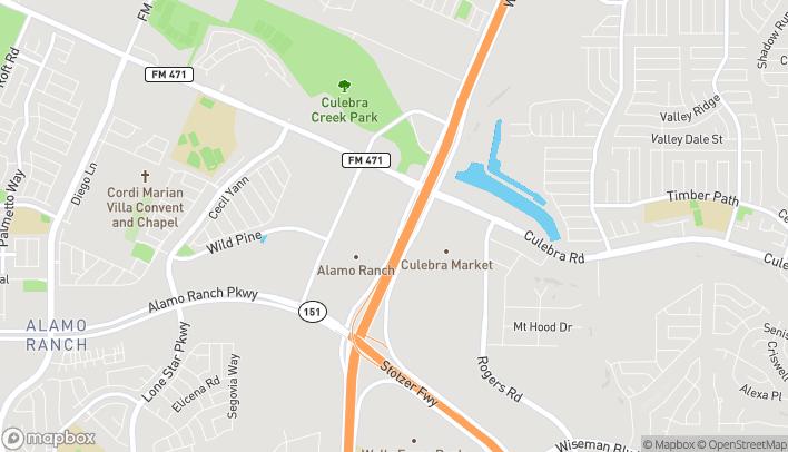 Mapa de 5539 W Loop 1604 N en San Antonio