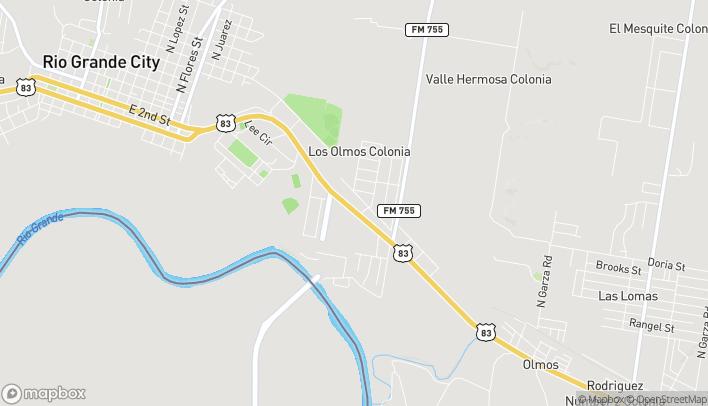 Mapa de 4039 E US Hwy 83 en Rio Grande City