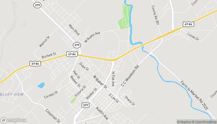 Mapa de 210 W Commerce St en Brownwood