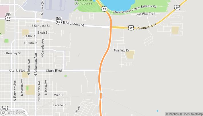 Map of 2420 Bob Bullock Loop in Laredo