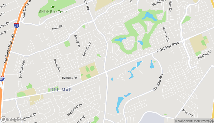 Map of 7815 McPherson Rd in Laredo