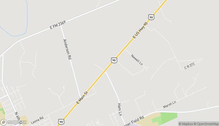 Mapa de 3190 E Main St en Uvalde