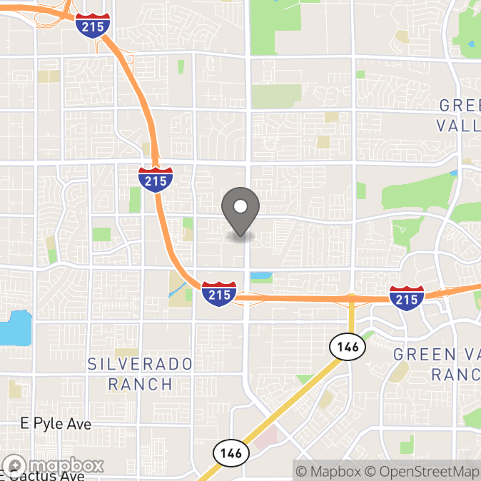 Map in Las Vegas, Nevada for Amanda Partin therapy location.