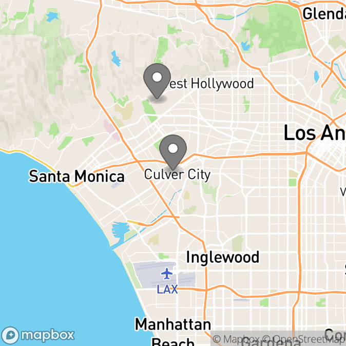 Map in Temecula, California for Megan Gravenstein therapy location.