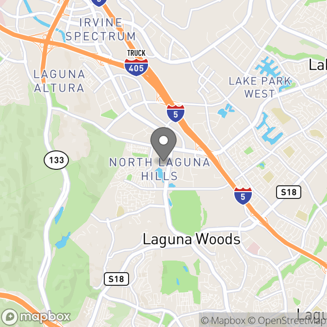 Map in Laguna Hills, California for Michael  Majeski  therapy location.