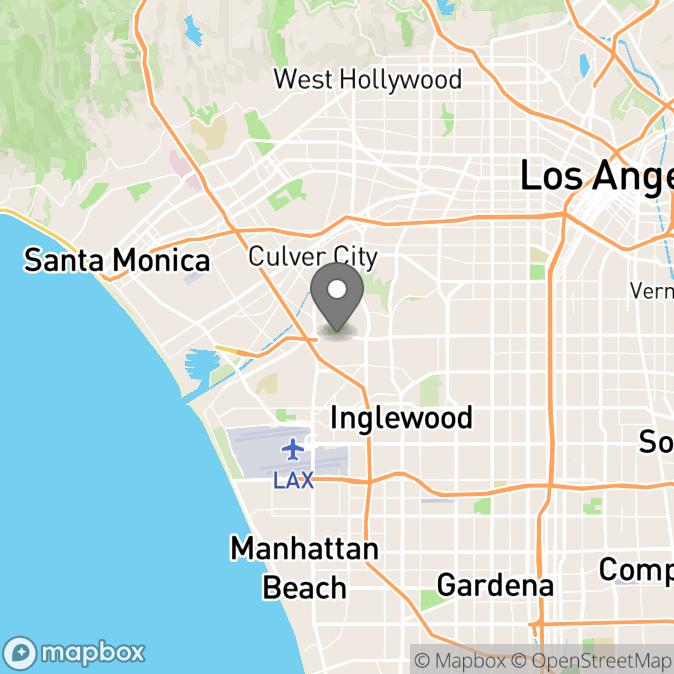 Map in Orange, California for Hiroko Saeki therapy location.