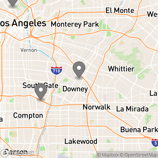 Map in Topanga, California for Lizette Lopez therapy location.