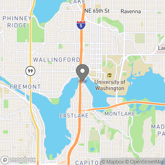 Map in Seattle, Washington for Paul Heiman therapy location.