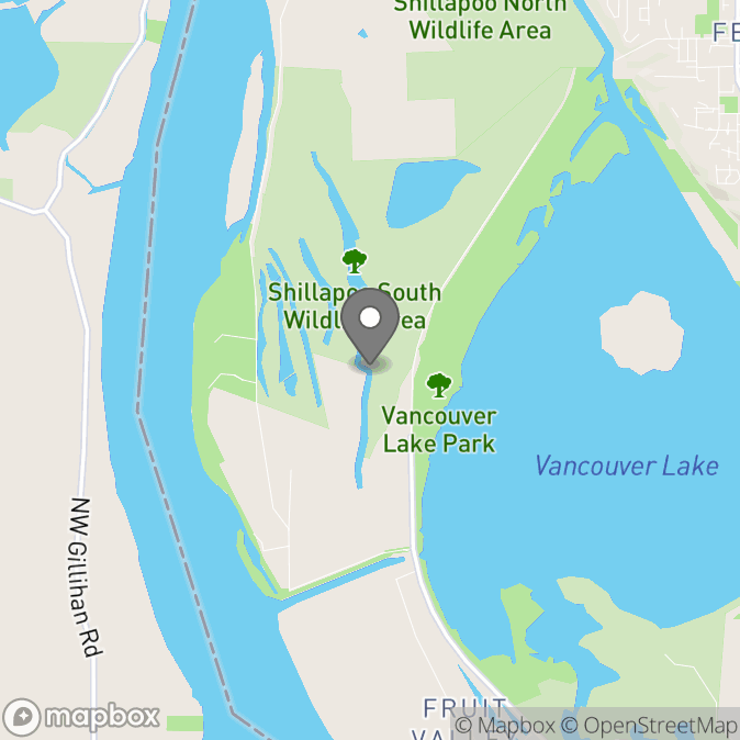 Map in Vancouver, Washington for Michael Davidson therapy location.