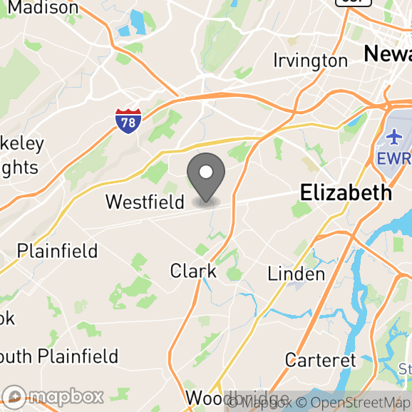 Map in New York City, New York for Dr. Craig Springer therapy location.