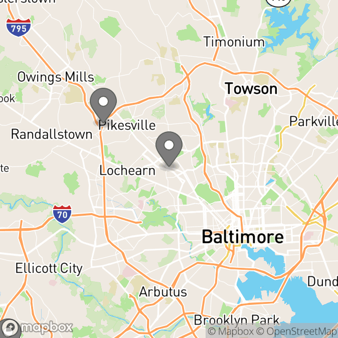 Map in Columbia, Maryland for Noam  Dinovitz therapy location.
