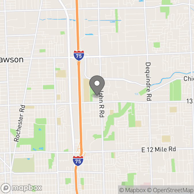 Map in Madison Heights, Michigan for Brittany Haney Navetta therapy location.