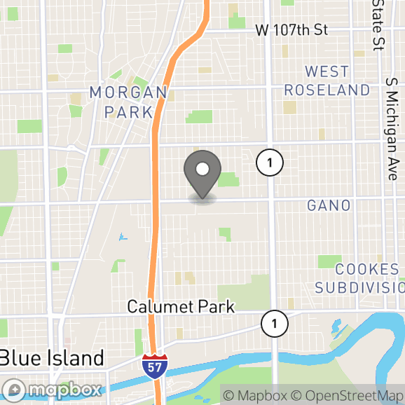 Map in Chicago, Illinois for Cherie  Barnes  therapy location.