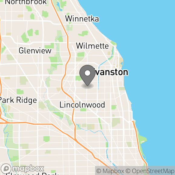 Map in Oak Brook, Illinois for Rosy Tyree therapy location.