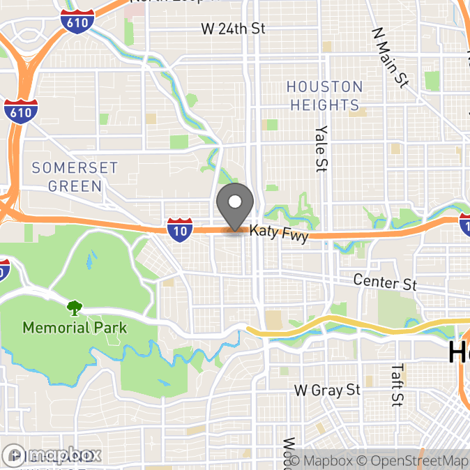 Map in Houston, Texas for Diana Cabrera-Stewart therapy location.
