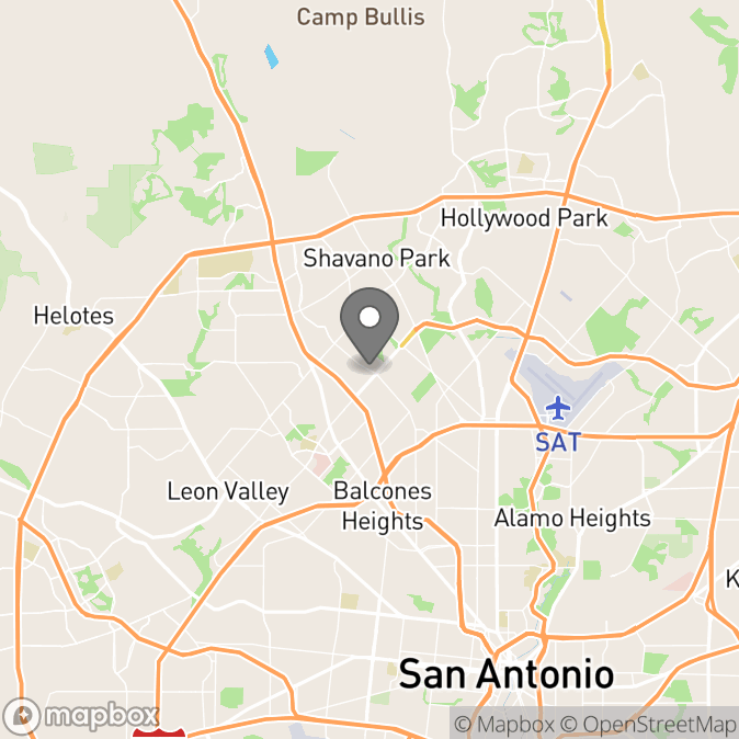 Map in Burnet, Texas for Dr. Jacqueline  Parsons therapy location.