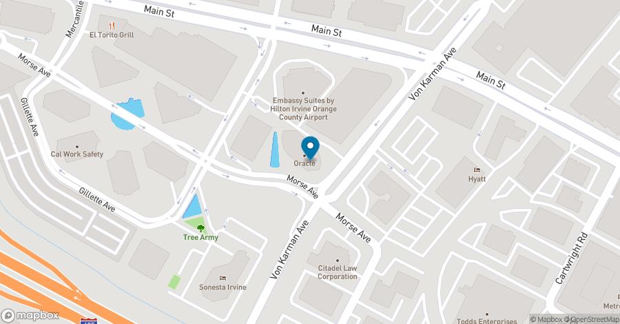 Map of 17901 Von Karman Avenue in Irvine