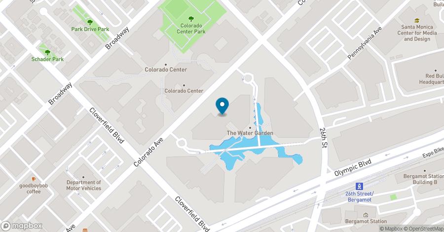 Map of 2450 Colorado Avenue in Santa Monica