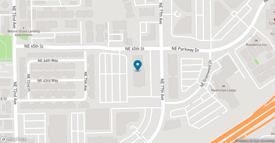 Map of 4400 NE 77th Avenue in Vancouver