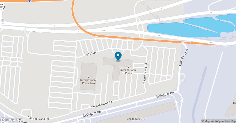 Map of 1 International Plaza in Philadelphia